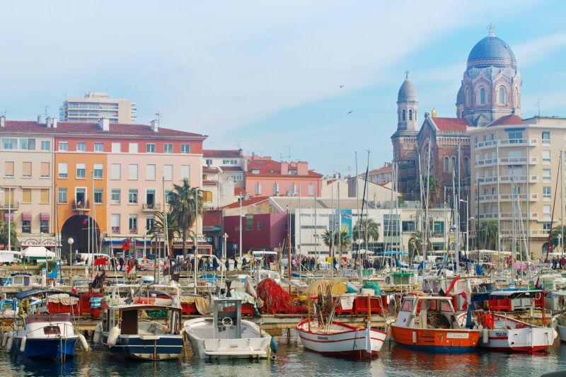 El puerto de Saint Raphael