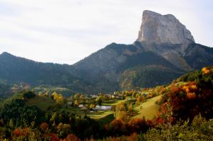 El macizo del Vercors tierra de espléndida naturaleza y de rica historia. Foto de Mr Gourmand, en Flickr.