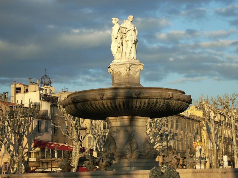 Primavera y verano provenzal en Aix-en-Provenza