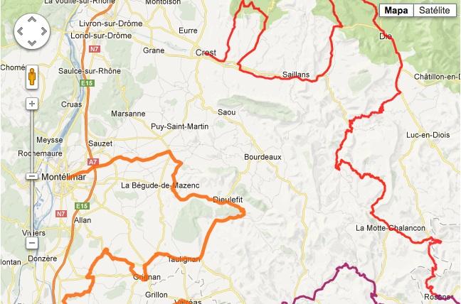 Ruta de la lavanda 1: Valle de la Drôme, Diois y Haut-Buëch