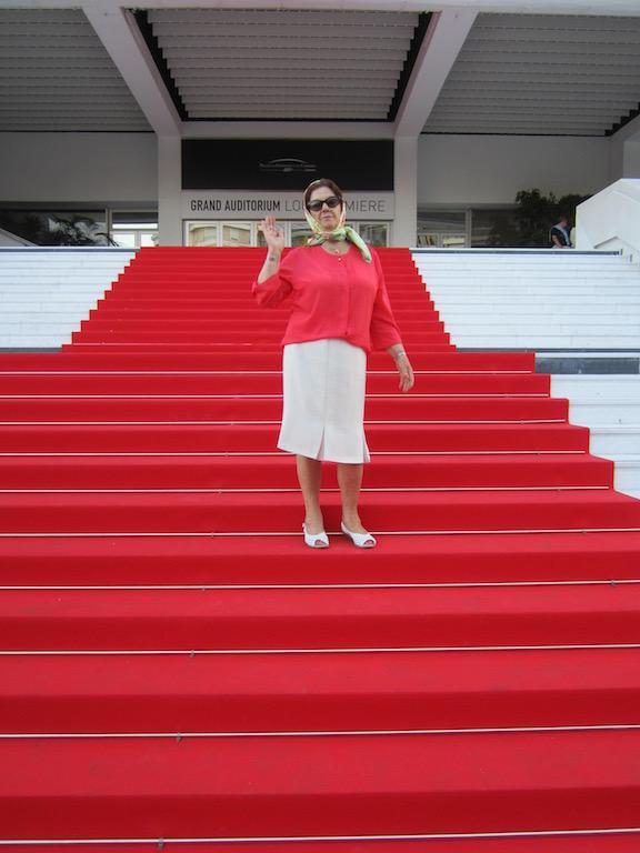 La alfombra roja de Cannes se despliega para grandes actores y actrices de todo el mundo. © María Calvo.