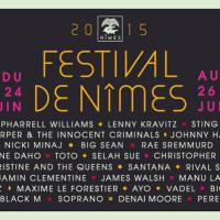 Entradas para el Festival de música de Nimes 2015
