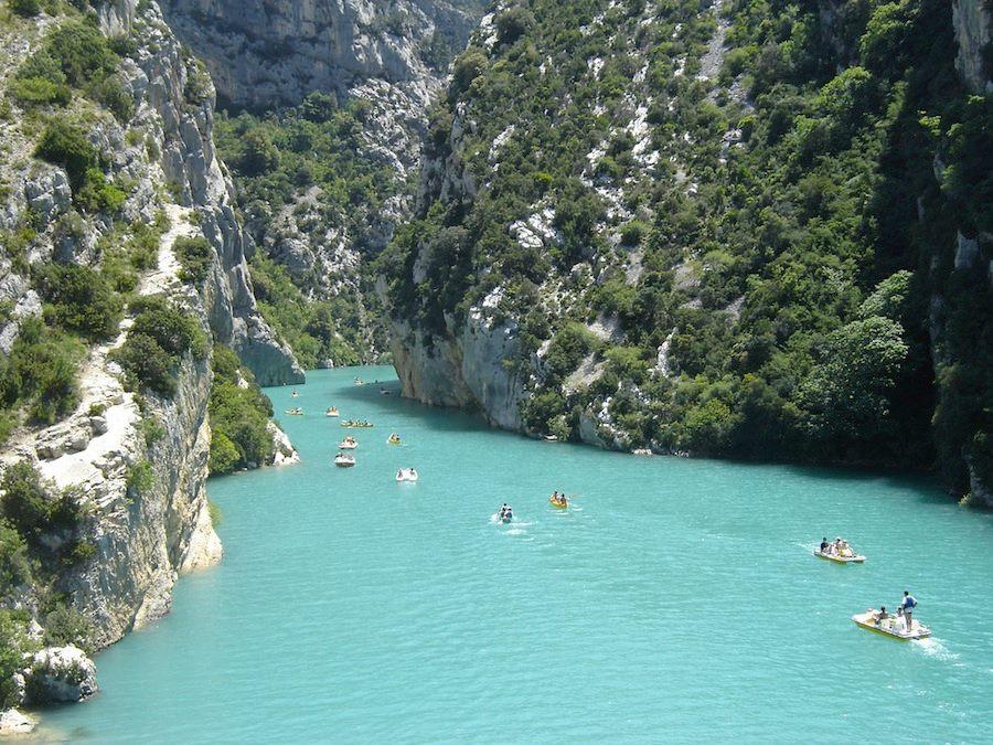 El Gran Cañón del Verdon, con sus aguas esmeralda