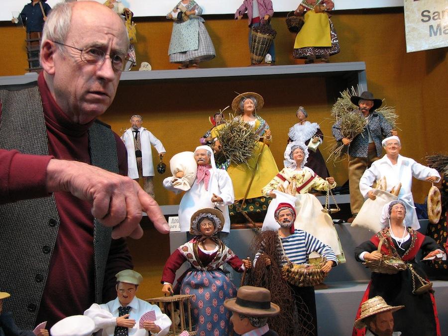 """Los típicos """"santons"""" provenzales, figuras del Belén hechas por los artesanos de Provenza. Foto de jssm1th."""